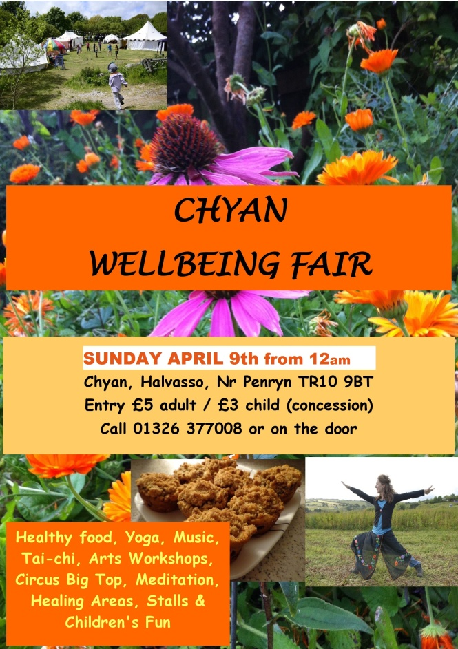 Chyan Wellbeing Fair Sunday April 9th 2017